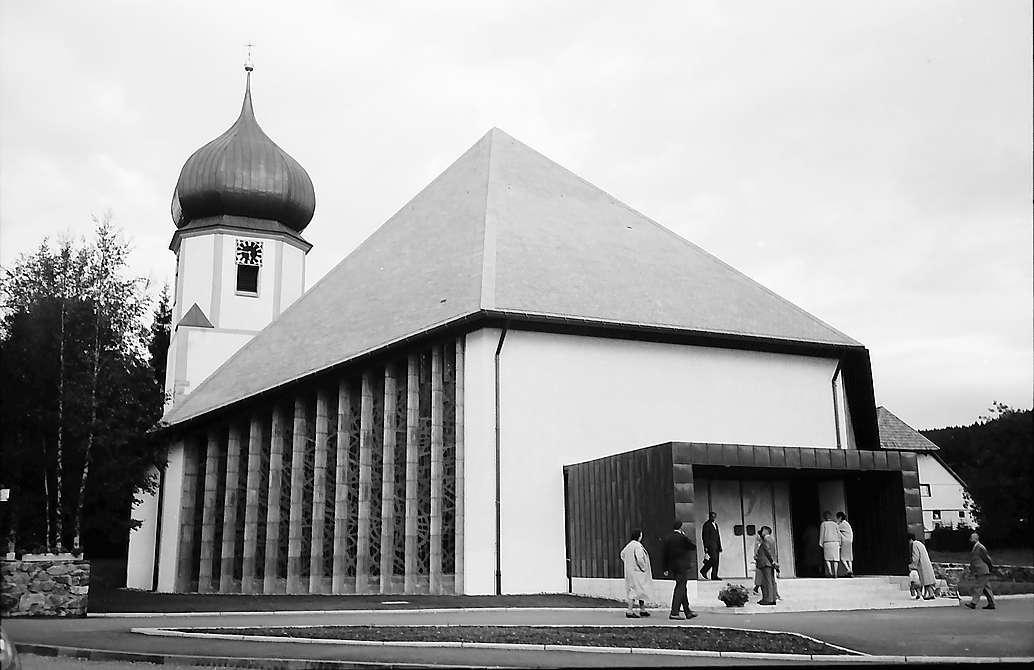 Kirchenumbau in Hinterzarten, Bild 1