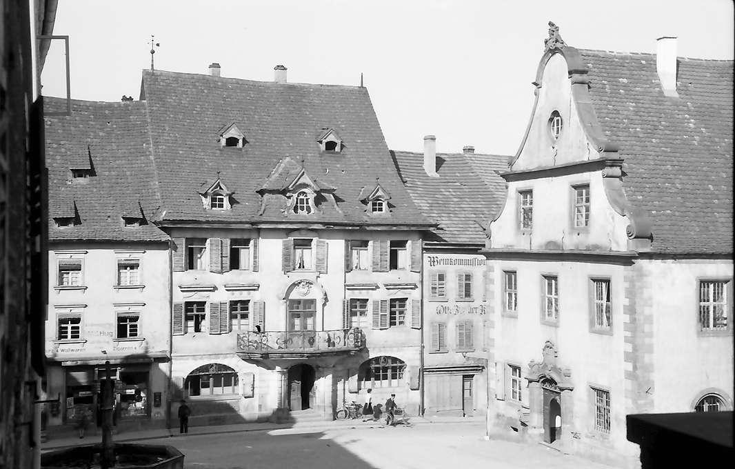 Endingen: Marktplatz mit Rathaus, Bild 1