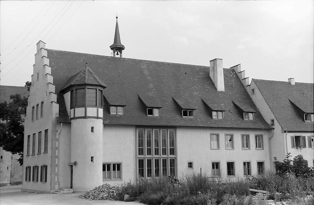 Breisach: Neues Rathaus, Rückansicht, Bild 1