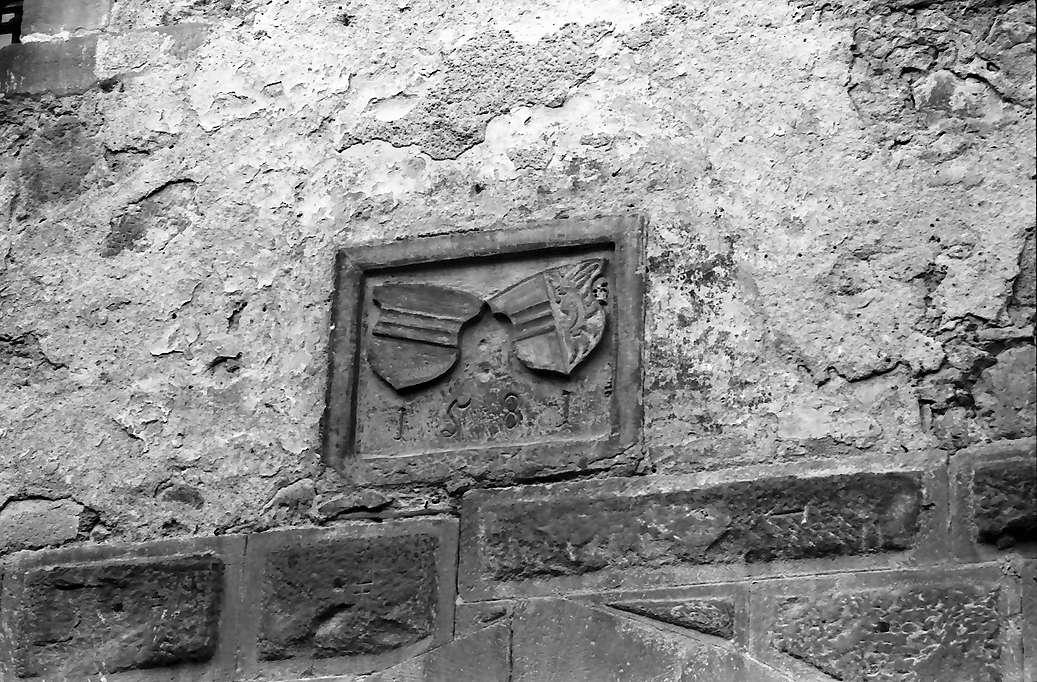 Endingen: Österreichisches Wappen im Turm, Bild 1