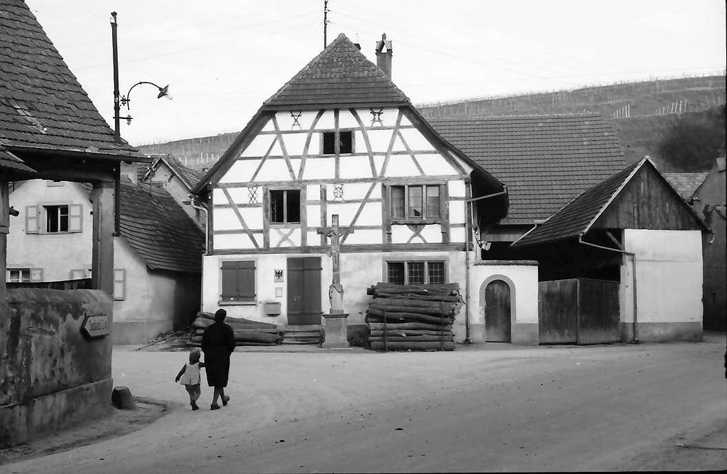 Jechtingen: Post-Fachwerkhaus, Bild 1