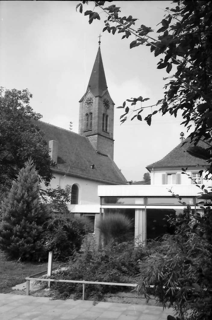 Bötzingen: Evangelische Kirche mit Gemeindezentrum, Bild 1