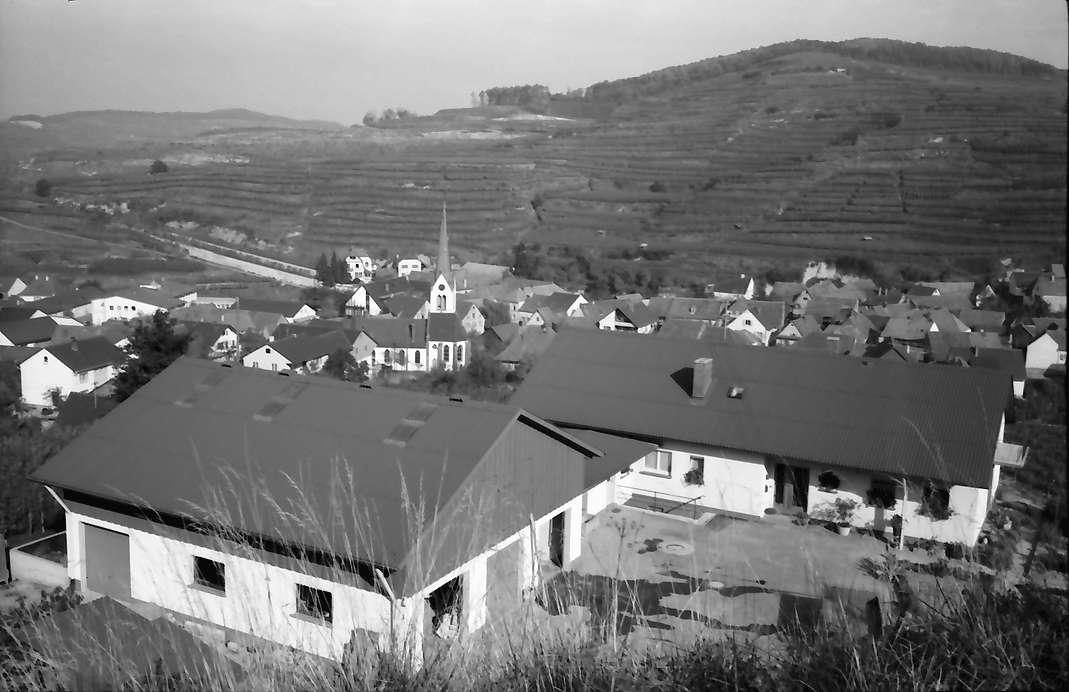 Bickensohl: Weingut Aussiedlerhof bei Bickensohl, von oben, Bild 1