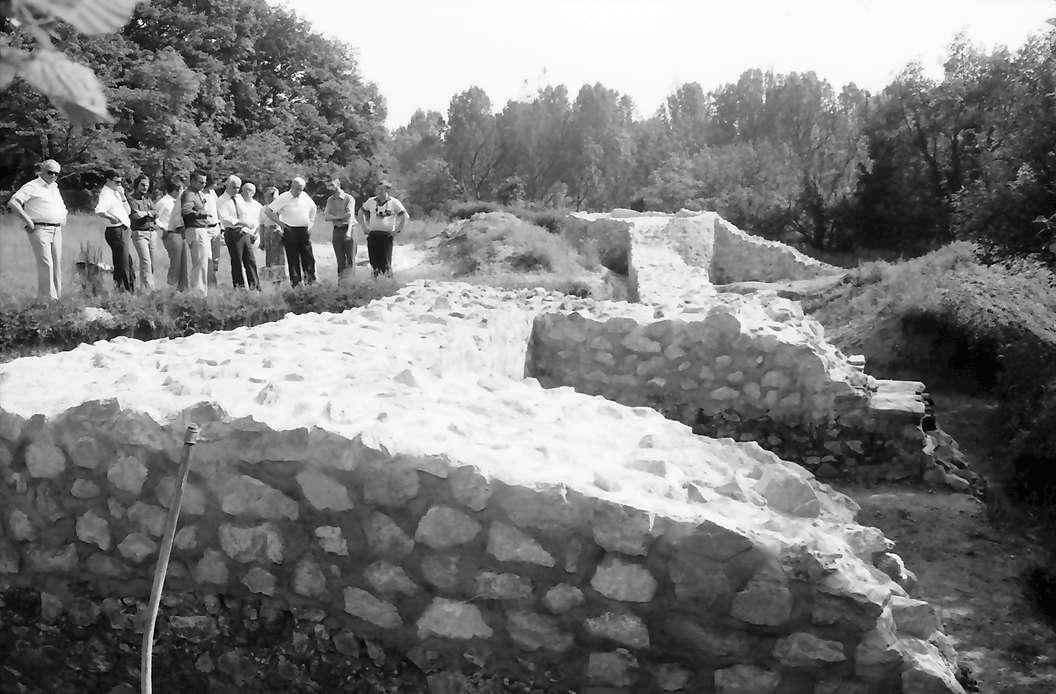 Jechtingen: Sponeck, Ausgrabung einer spätrömischen mittelalterlichen Burg, Bild 1
