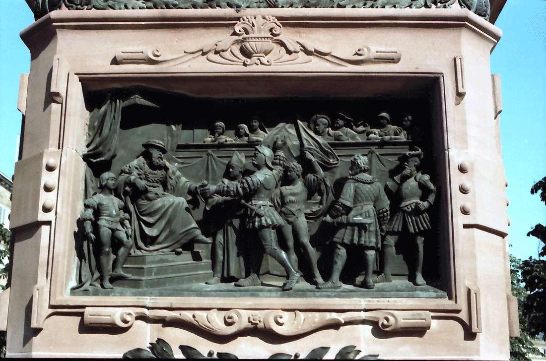 Stuttgart: Tafel mit Darstellung, Bild 1