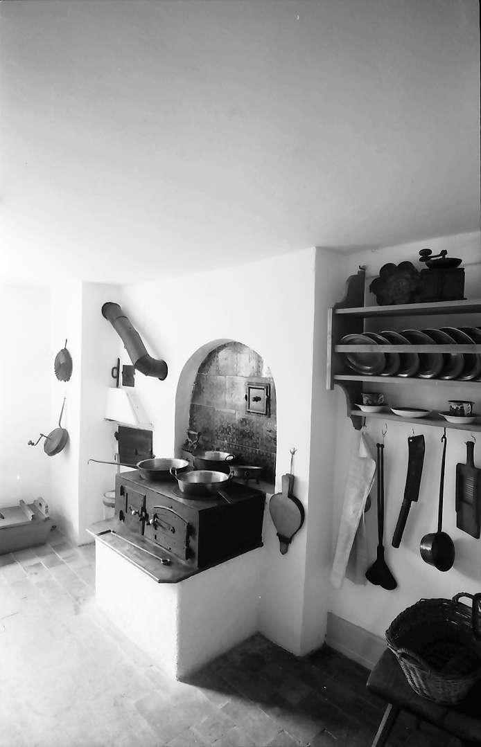 Hausen: Hebelmuseum, Küchenherd, Bild 1