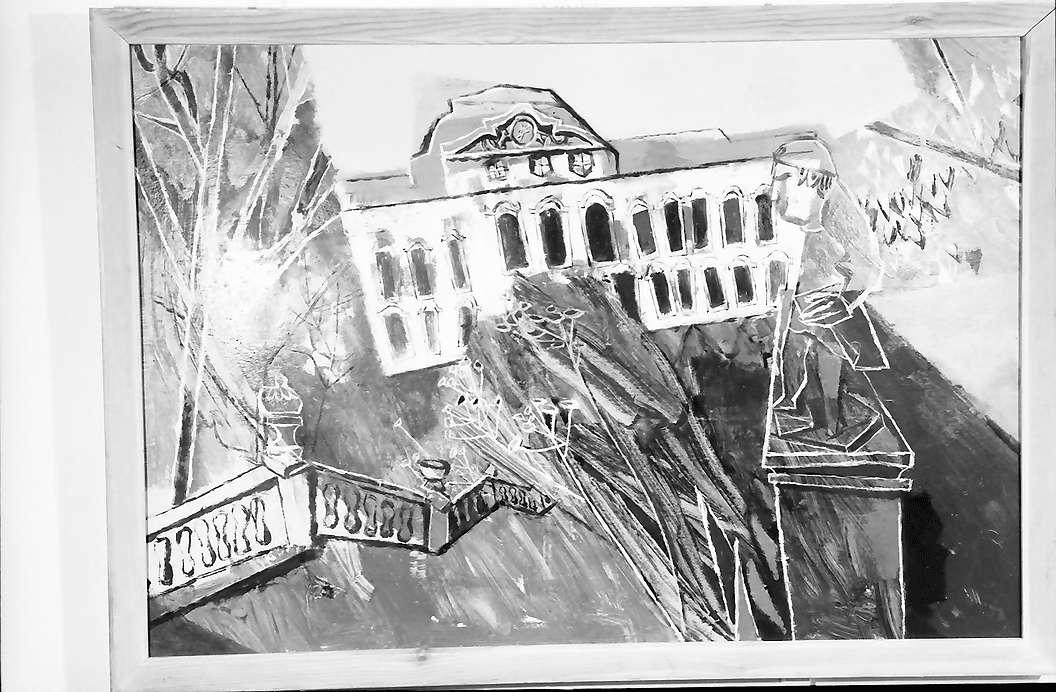 Bernau: Gemälde von Prof. Fuhr, Bild 1