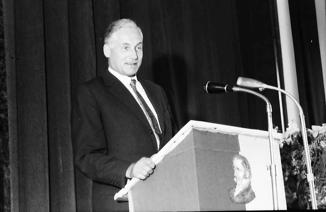 Hausen im Wiesental: Ansprache Kultusminister Prof. Dr. Hahn, Bild 1