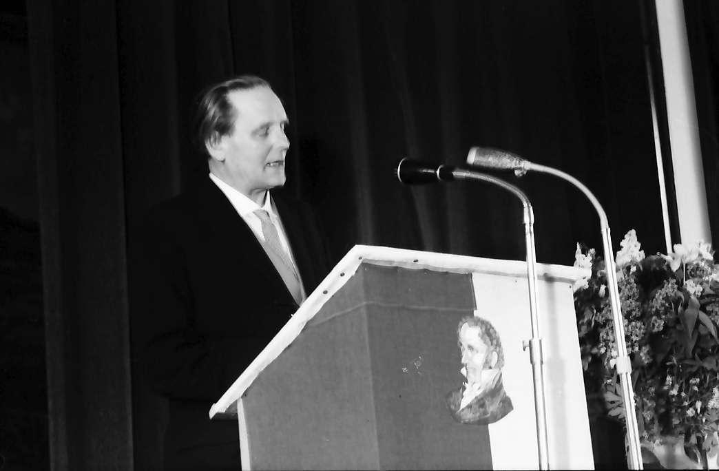 Hausen im Wiesental: Ansprache Dr. Eberhard Meckel, Bild 1