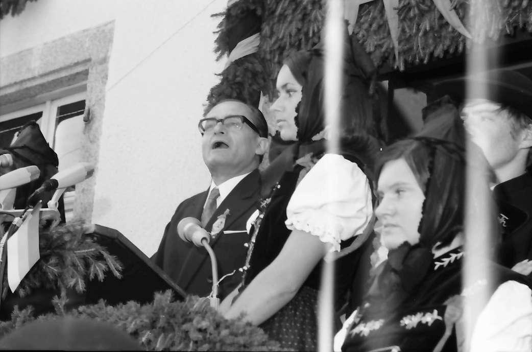 Bernau: Ansprache Min. Direktor Dr. Steinle, Bild 1