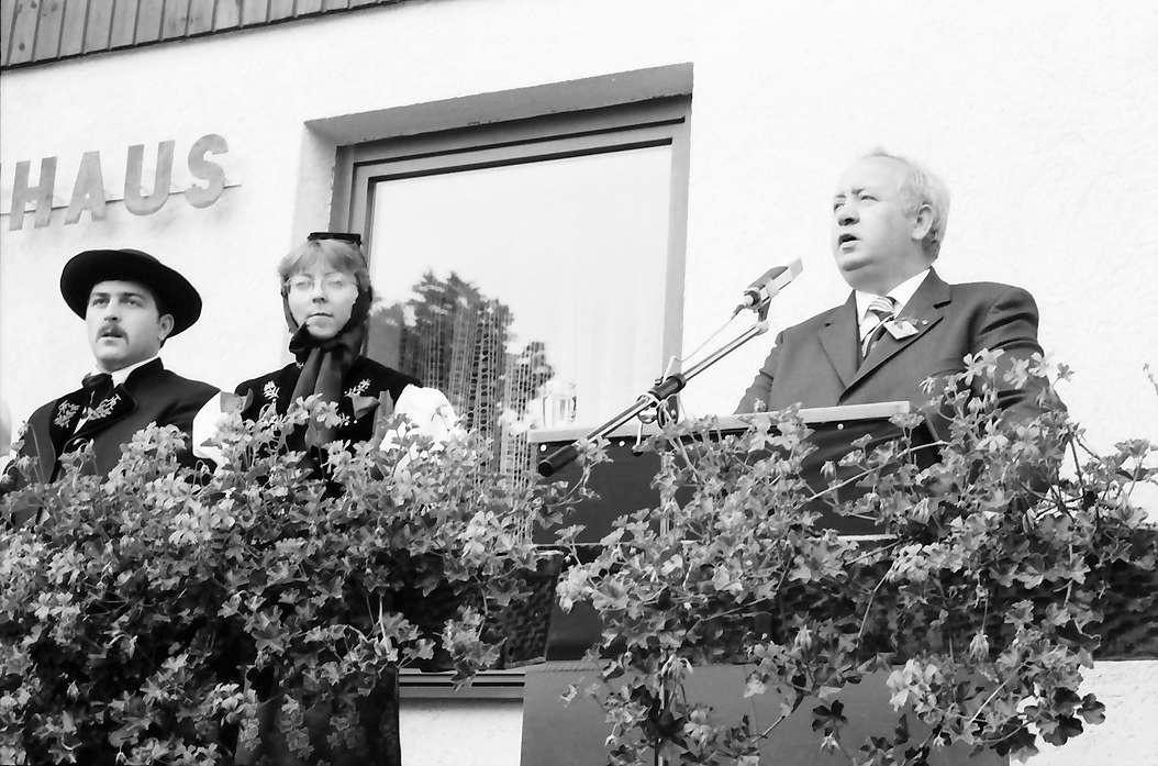 Bernau: Ansprache Landwirtschaftsminister Weiser, Bild 1