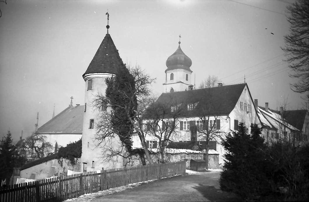Leutkirch: Turm und Martinskirche, Bild 1