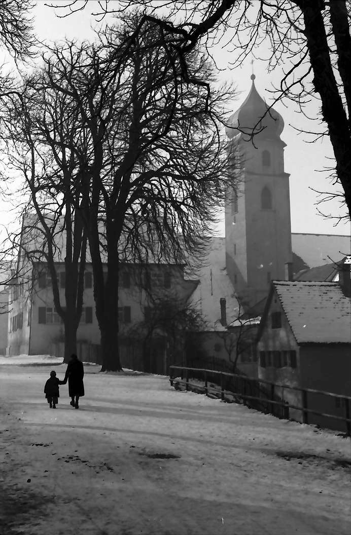 Leutkirch: Promenade oberhalb der Martinskirche, Bild 1
