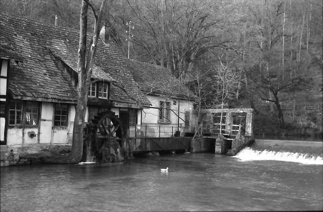 Blaubeuren: Mühle am Blautopf, Bild 1