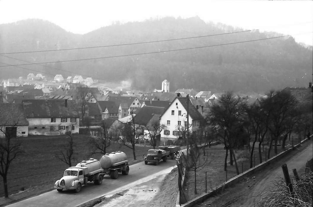 Gerhausen: Bundesstraße 28 bei Gerhausen, Bild 1