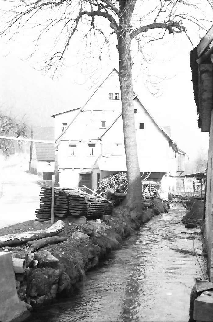 Weiler bei Blaubeuren: Fachwerkmühle, Bild 1