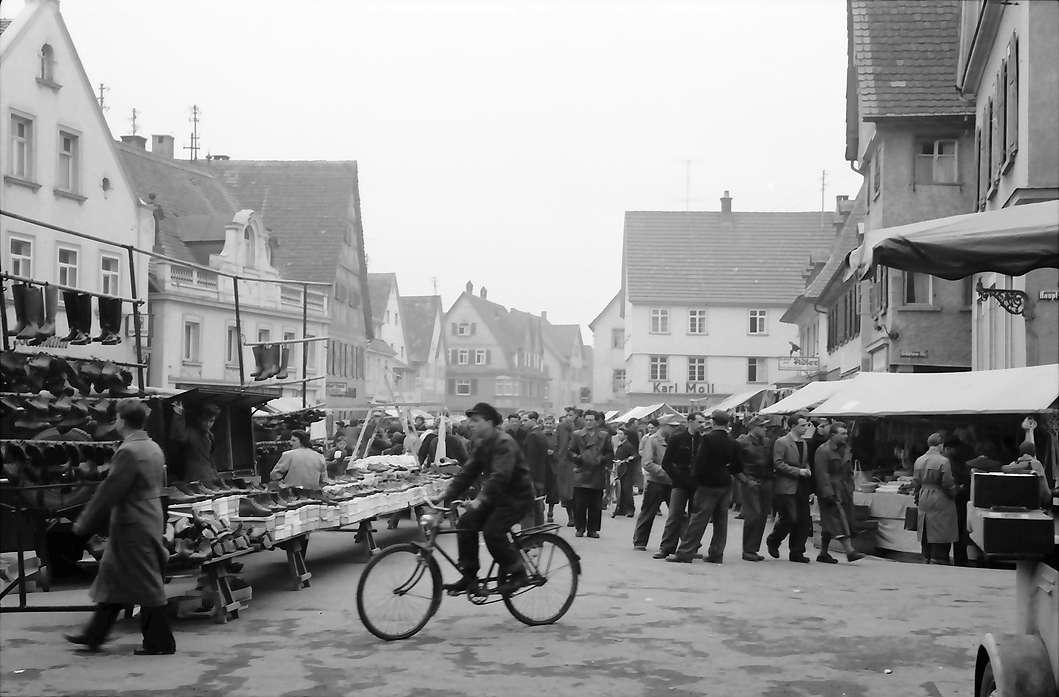 Saulgau: Blick in den Jahrmarkt, Bild 1