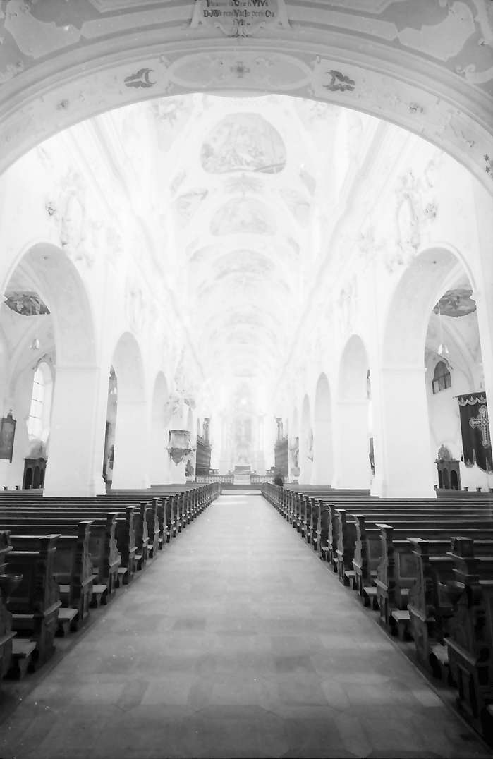 Ochsenhausen: Inneres der Klosterkirche, Bild 1