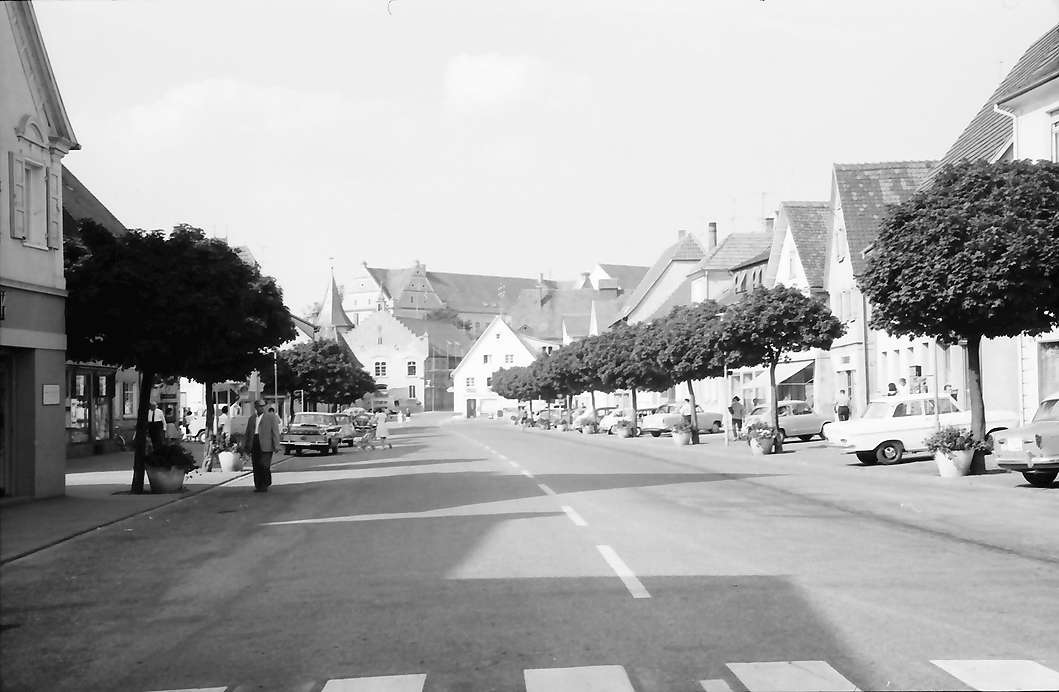 Bad Buchau: Hauptstraße, Bild 1