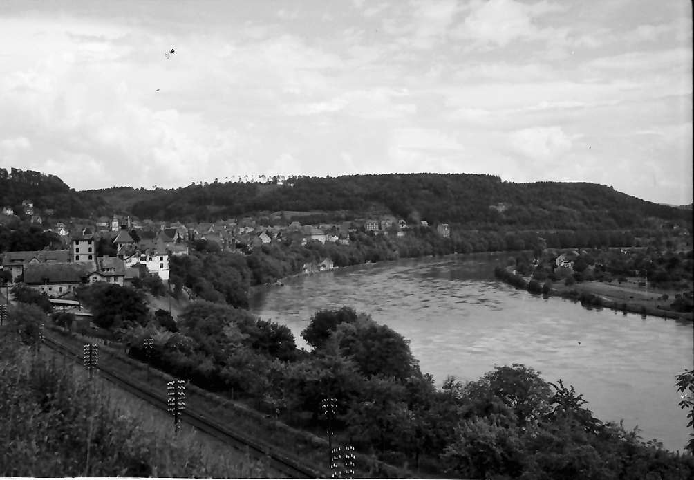 Waldshut: Rheinblick, Stromaufwärts (weiter westlich), Bild 1
