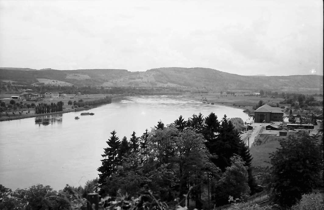 Waldshut: Rheinblick, Stromabwärts (weiter westlich), Bild 1