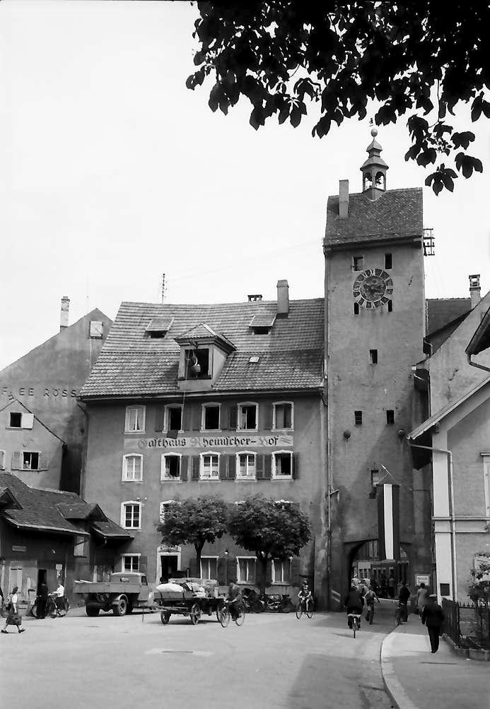Waldshut: Westtor, von außen, Bild 1