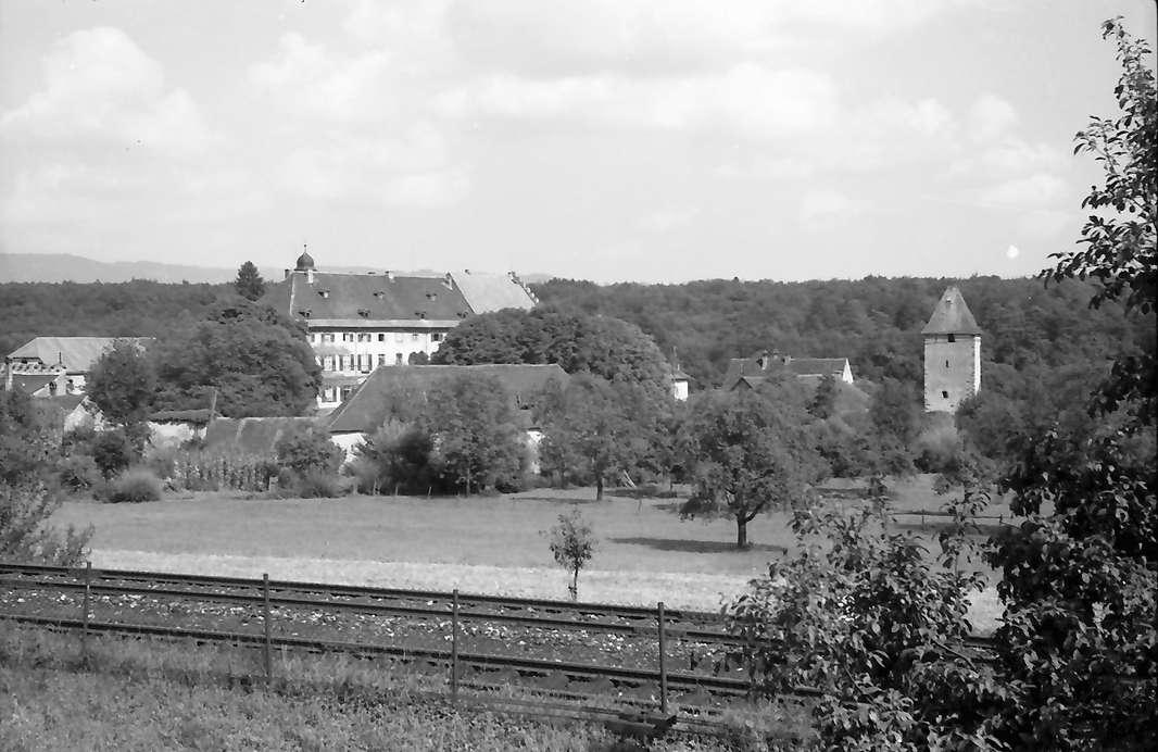 Beuggen: Schloss Gesamtansicht von der Straße, Bild 1