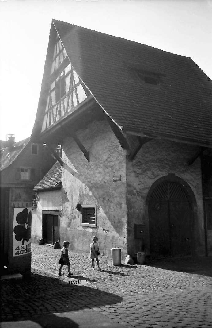 Rheinfelden: Giebelhaus; Scheune in der Futtergasse, Bild 1
