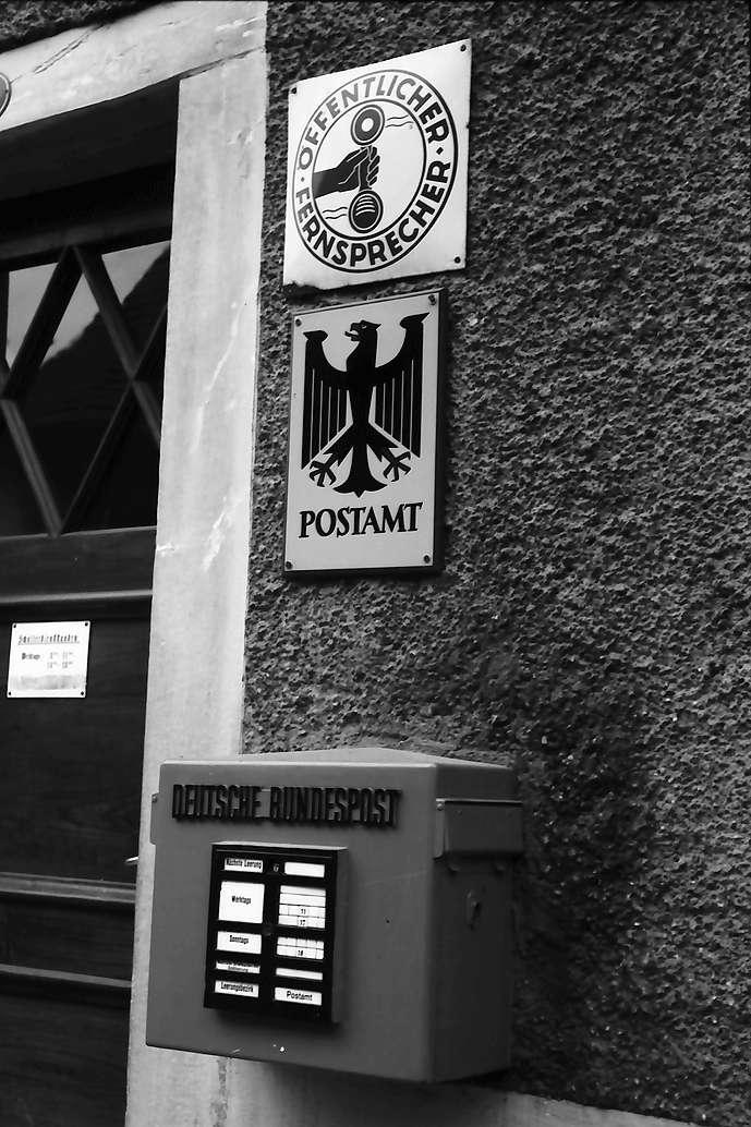 Büsingen: Poststelle und Briefkasten, Bild 1