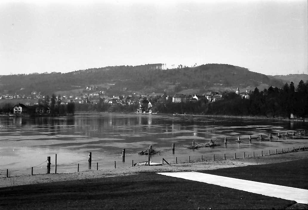 Waldshut: Der Rhein vom Strandbad aus, Bild 1