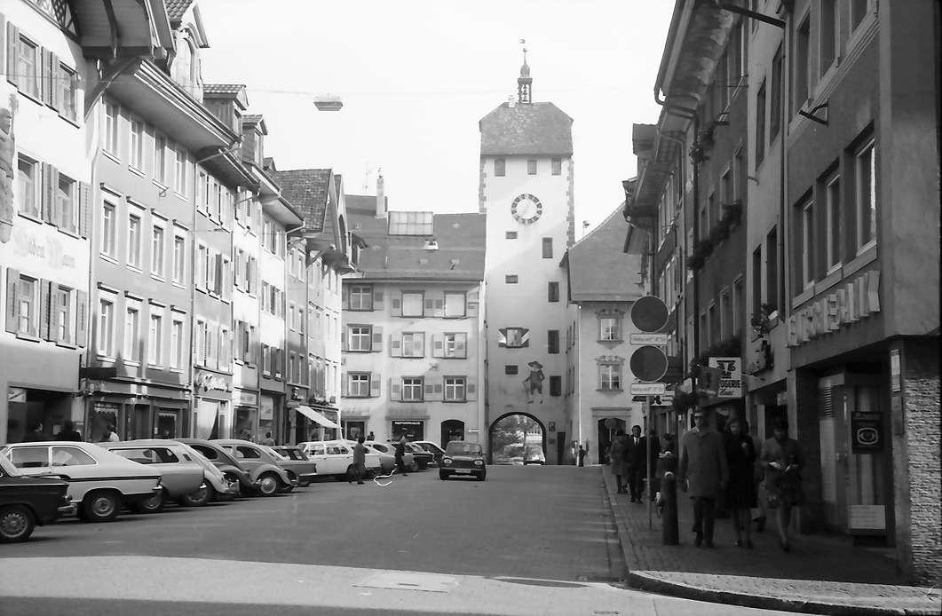 Waldshut: Hauptstraße mit Torturm, Bild 1