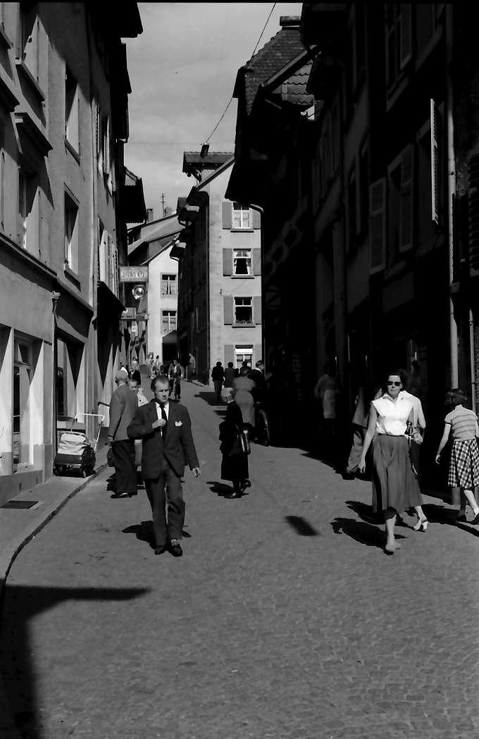 Laufenburg: Hauptstraße, Verkehr, deutscher Seite, Bild 1