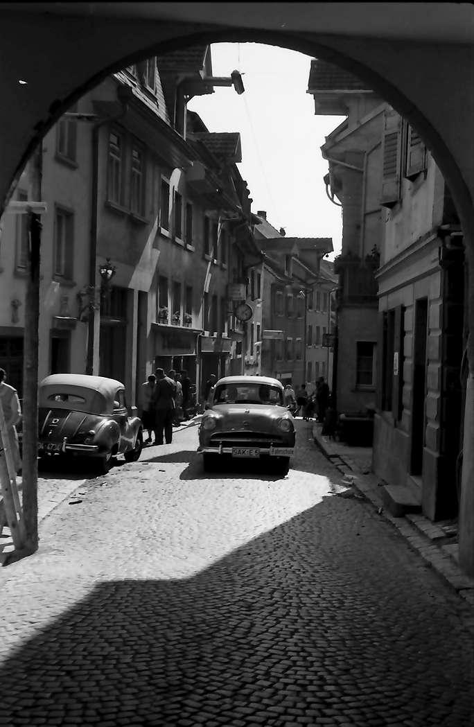Laufenburg: Hauptstraße Verkehr, Bild 1