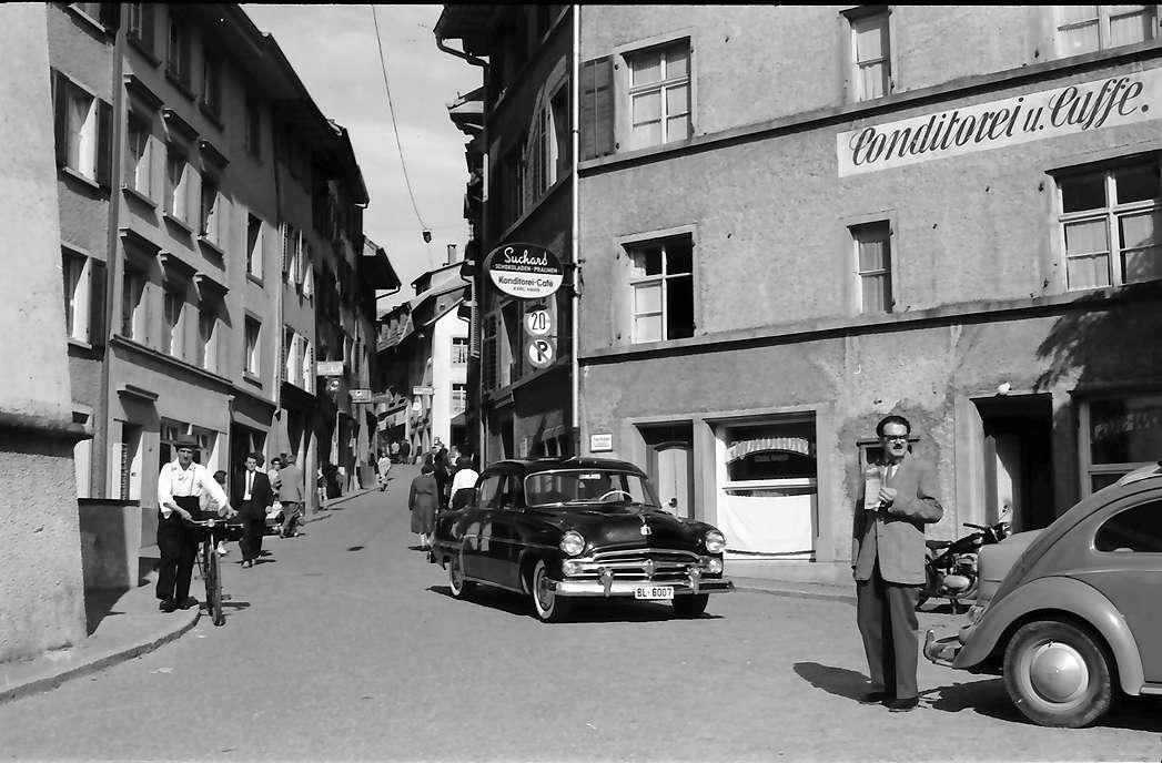 Laufenburg: Hauptstraße vor Zollhaus, Bild 1