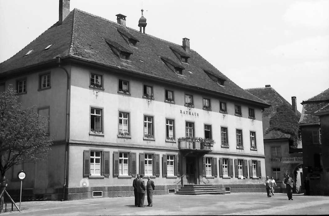 Bad Säckingen: Rathaus, Bild 1
