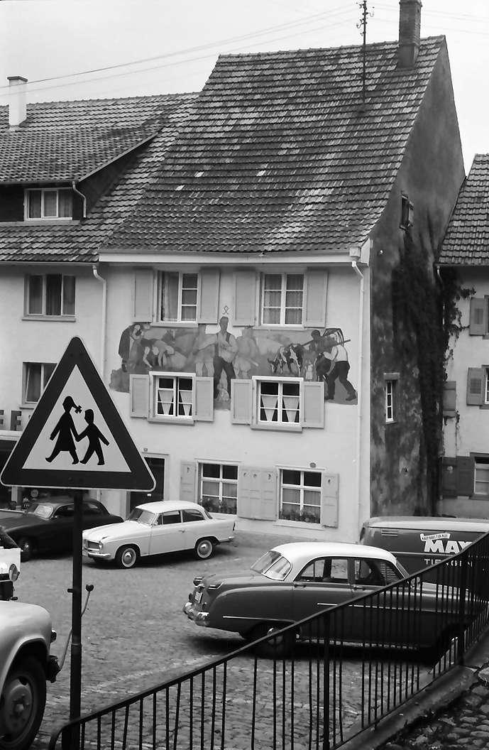 Tiengen: Haus mit Bemalung, Bild 1