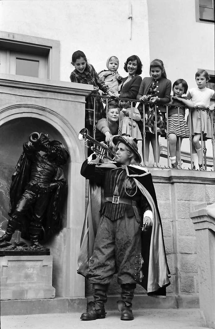 Bad Säckingen: Trompeter von Säckingen und Denkmal, Bild 1