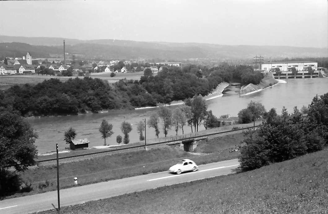 Hauenstein: über den Rhein auf Kraftwerk Albbruck, Bild 1