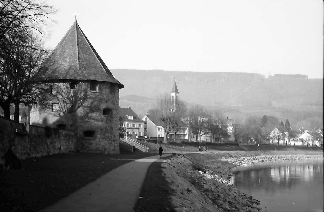 Bad Säckingen: Pulverturm und Reinpromenade, Bild 1