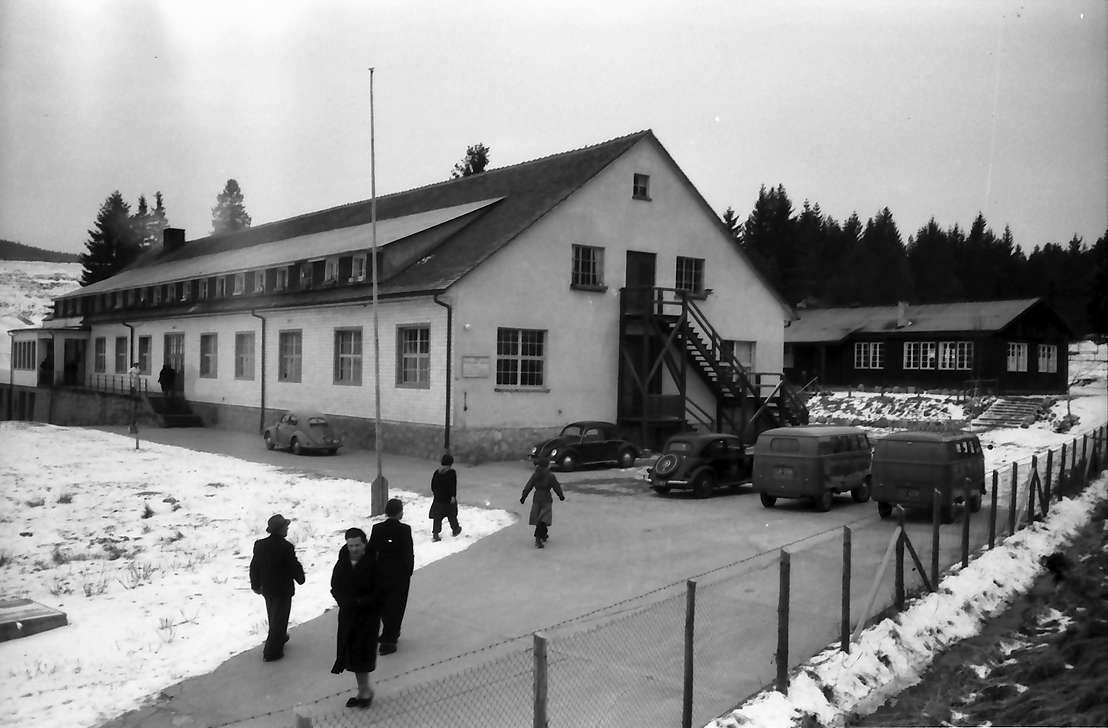 Schluchsee: Flüchtlingslager, Außenansicht, Bild 1