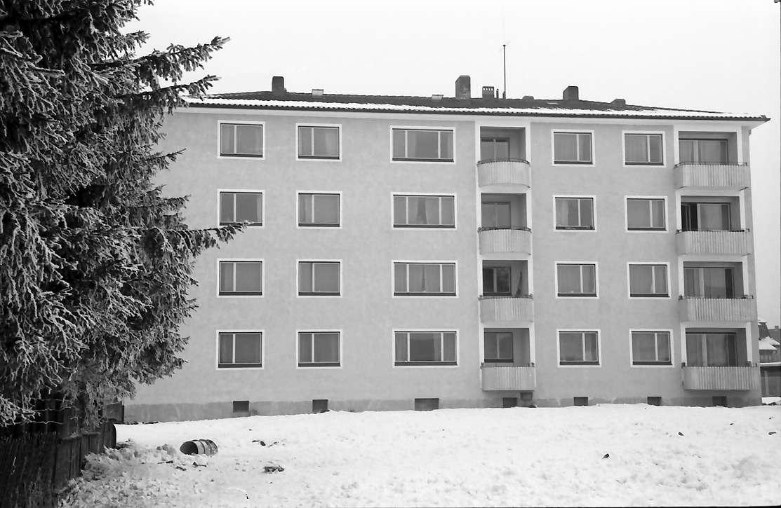 Villingen: Übergangswohnheim, Seitenbau (links Tannen), Bild 1