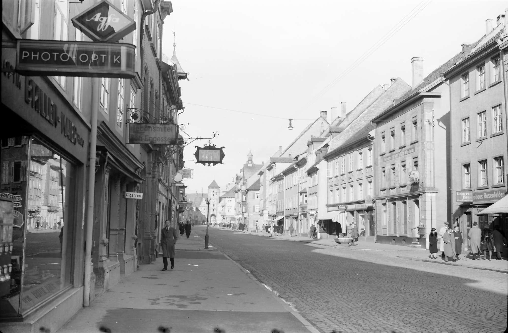 Villingen: Straße in Villingen, Bild 1