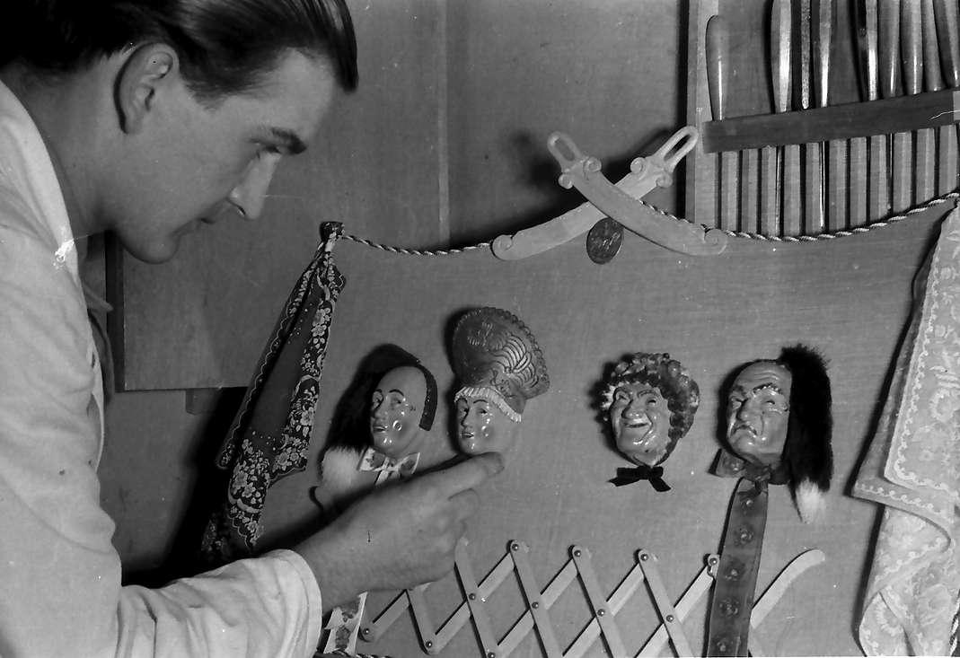 Villingen: Vier Maskentypen (Modelle) mit Merz (Junior) dabei, Bild 1