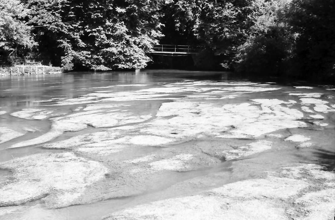 Aach: Aachquelle, wallendes Wasser, Bild 1