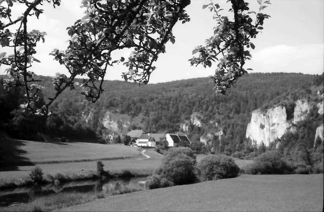 Thiergartenhof: Donauschleife mit Inzigkofen, ehemaliges Kloster, Bild 1