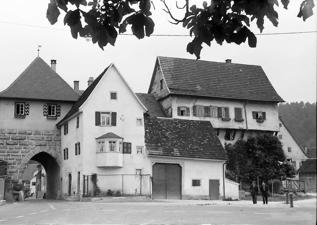 Mühlheim (Donau): Tor von außen, Bild 1