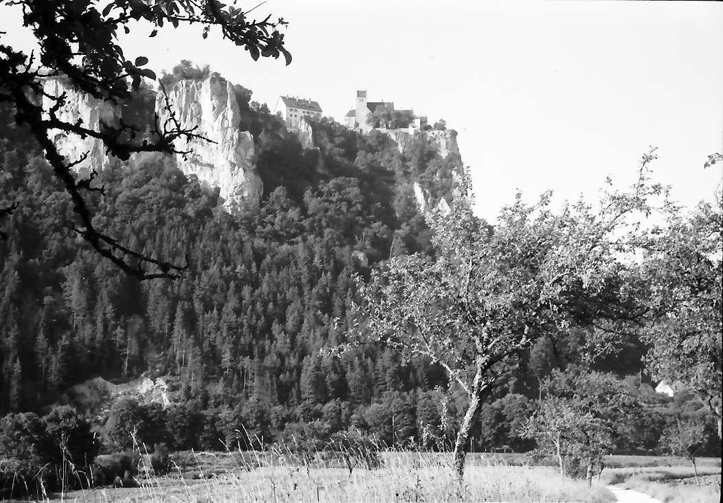 Werenwag: Burg Werenwag von unten, Bild 1