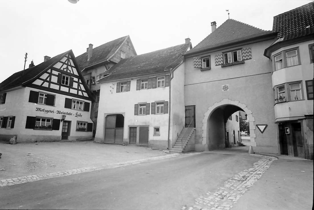 Mühlheim (Donau): Stadttor von innen, Bild 1