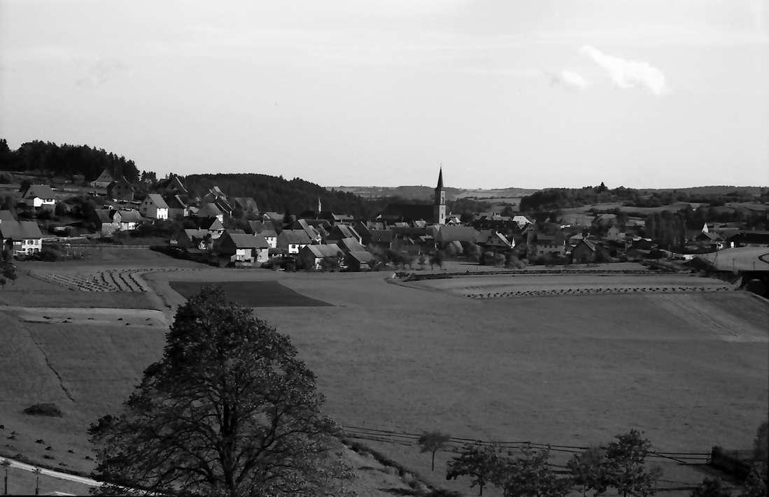 Löffingen: Blick vom Turm der Wallfahrtskirche auf Witterschnee, Bild 1