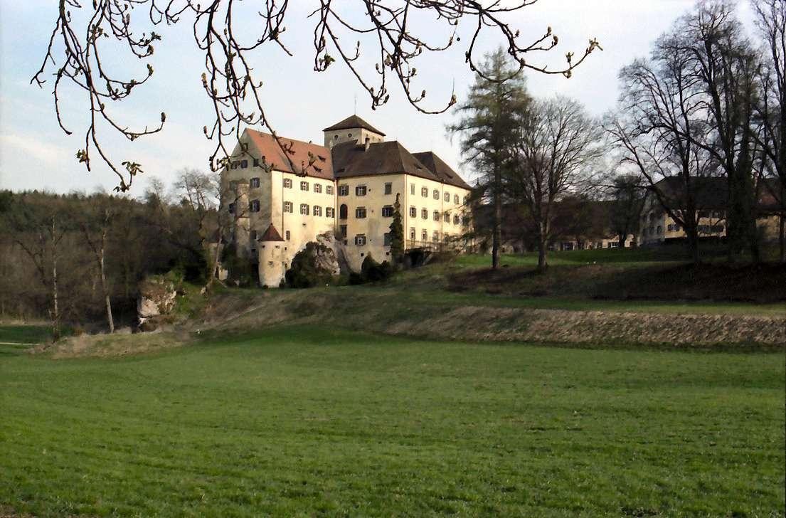 Eigeltingen: Schloss Langenstein, Parkseite, Bild 1